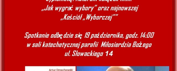 Artur Dmochowski w Kwidzyniu – 19 października