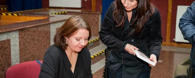Spotkanie z Joanną Lichocką w Lubinie
