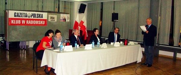 Poseł Antoni Macierewicz w Radomsku