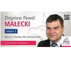 [Andrychów II] Kandydat do Rady Powiatu