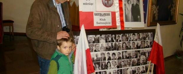 54. miesięcznica tragedii smoleńskiej w Świnoujściu
