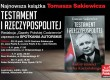 """Najnowsza książka Tomasz Sakiewicza – """"Testament I Rzeczypospolitej"""""""