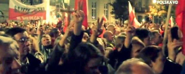 """Warszawa – """"Wmawiają nam, że Polska to nienormalność. Nie może być obojętne, jaki tu będzie rząd"""" (wideo)"""