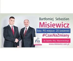"""[Warszawa Młodzieżowy Klub """"GP""""] Bartłomiej  Misiewicz – kandydat do Sejmiku Woj. Mazowieckiego"""