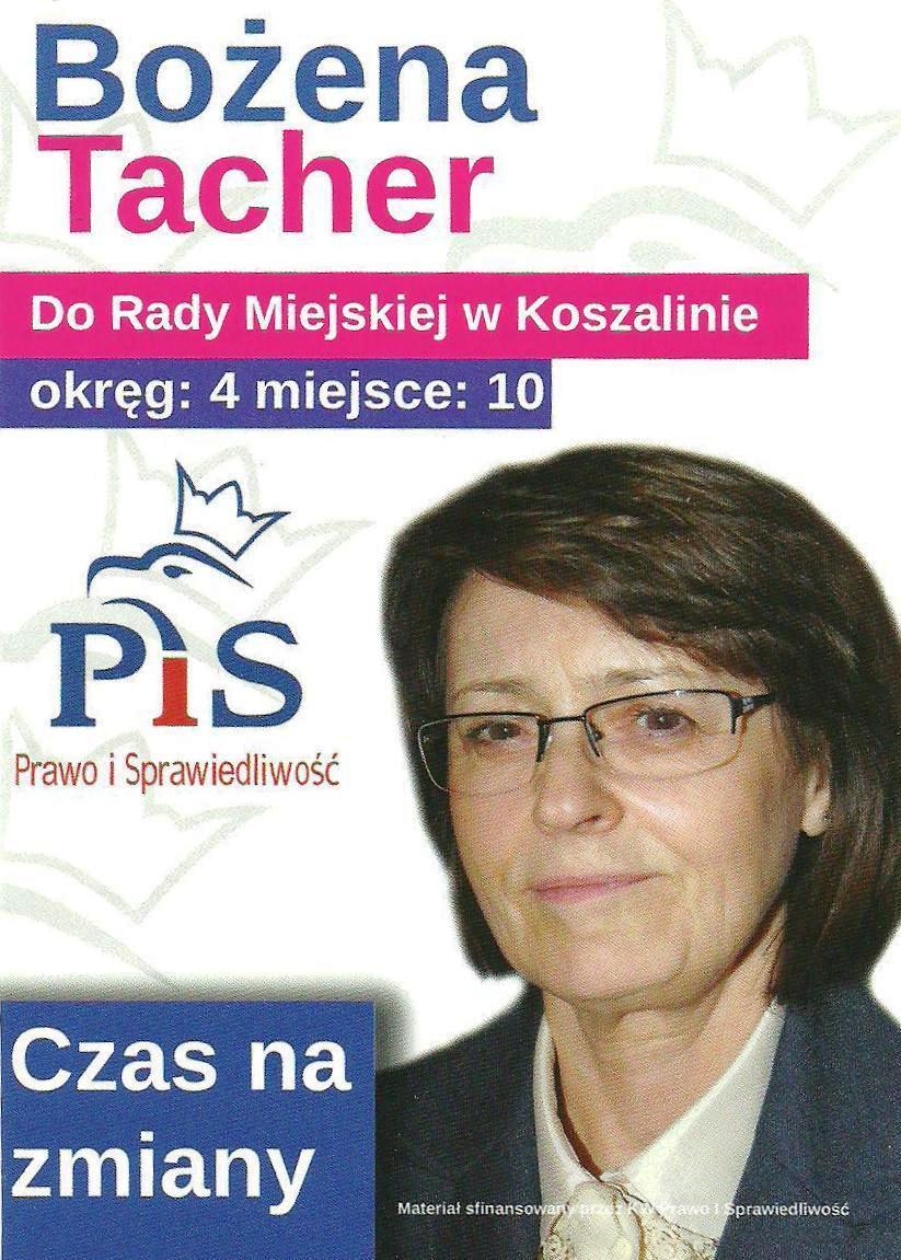 Koszalin_B. Tacher wybory2014a