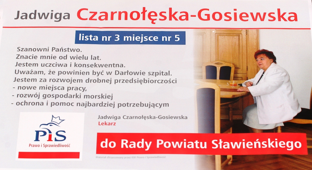 Koszalin_Gosiewska wybory2014