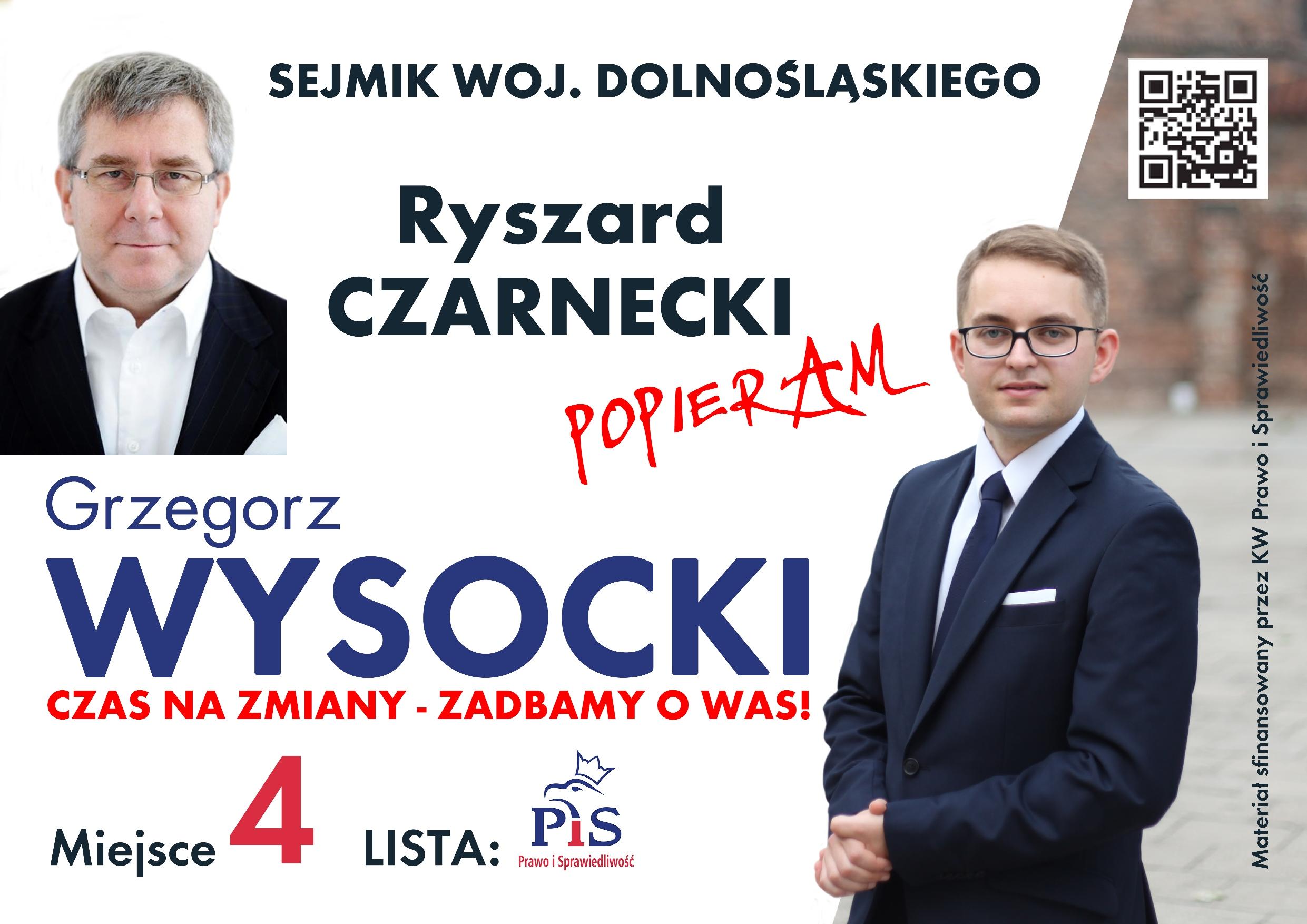 Oława_G. Wysocki wybory2014