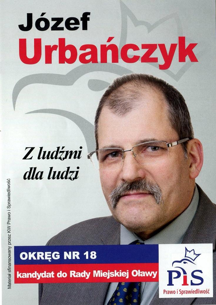 Oława_J. Urbańczyk wybory2014