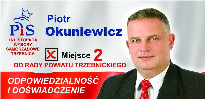 Oława_Piotr Okuniewicz wybory2014
