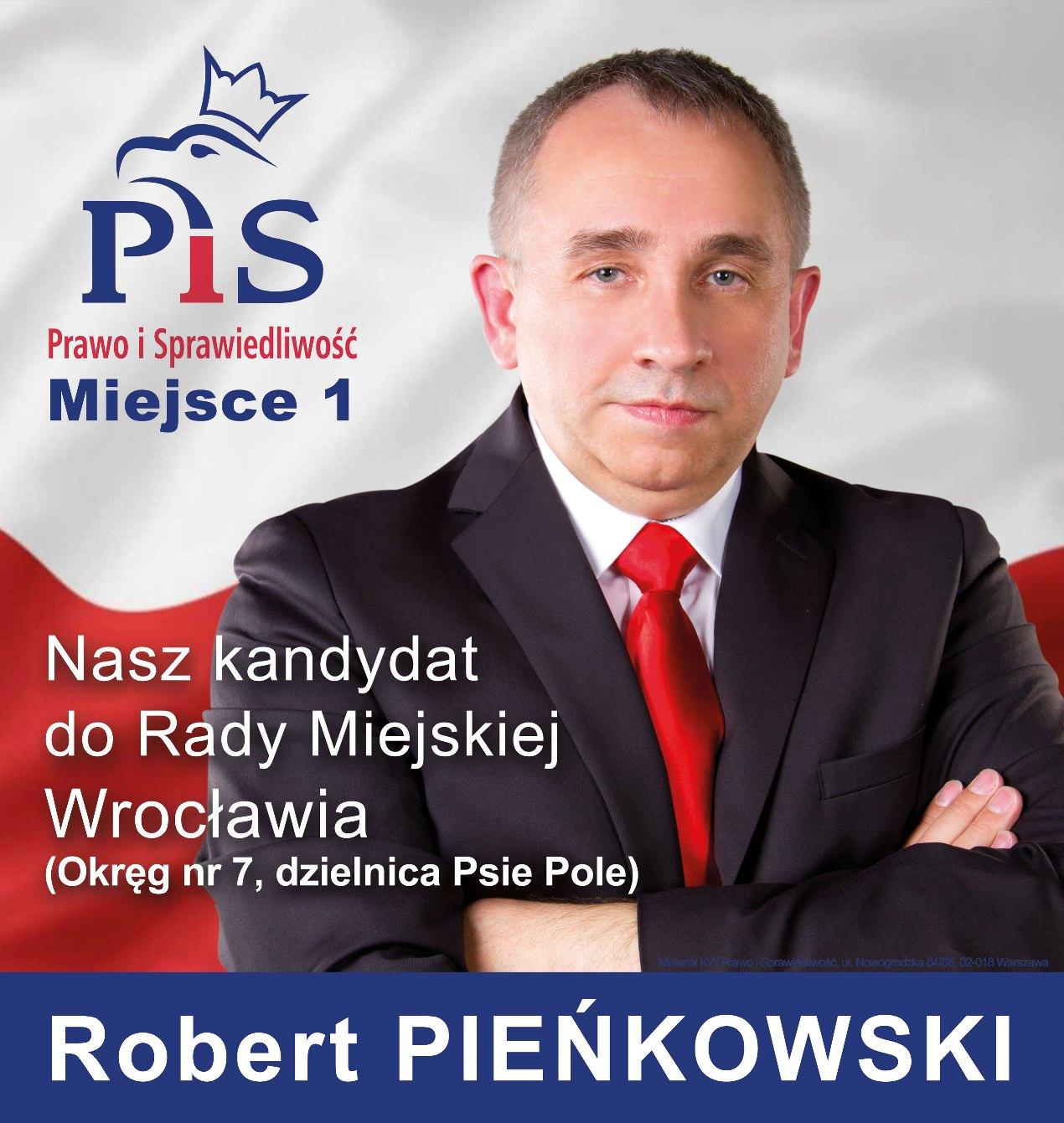 Oława_Robert Pieńkowski wybory2014