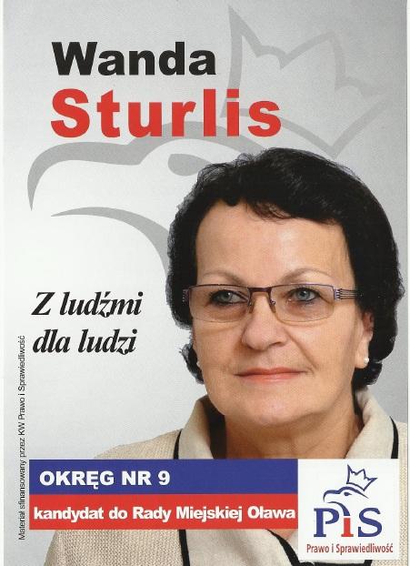 Oława_W.Sturlis wybory2014