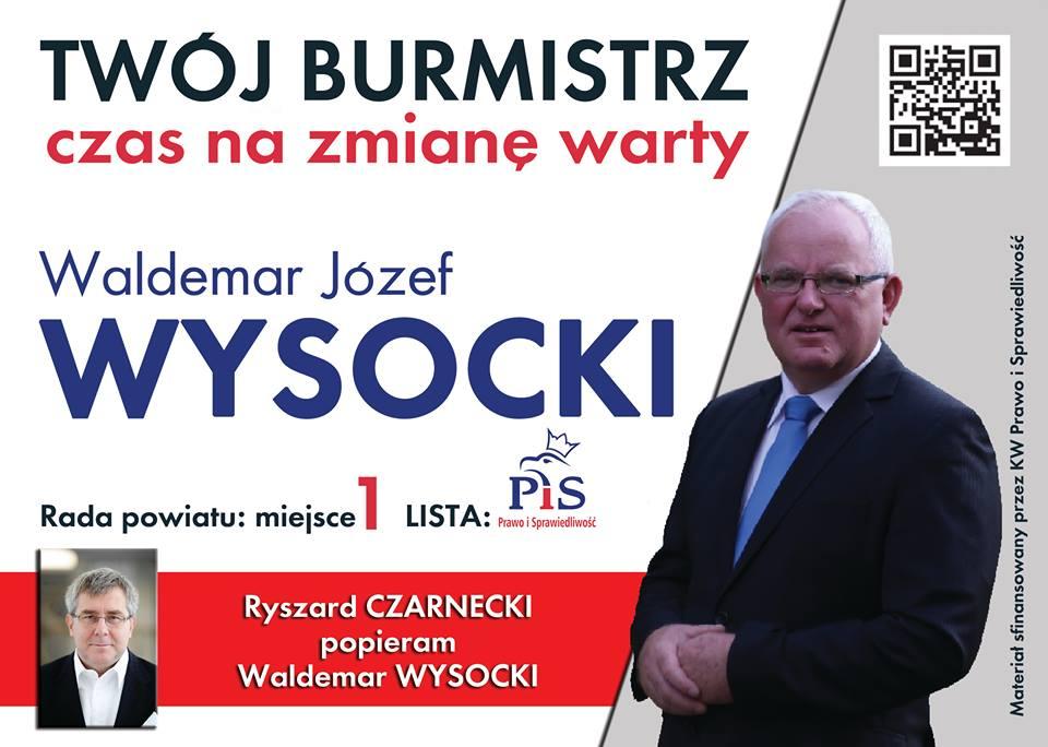 Oława_Waldemar Wysocki wybory2014