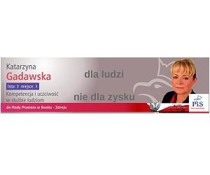 [Busko-Zdrój] Katarzyna Gadawska – kandydatka do Rady Powiatu