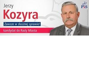 [Włodawa] Jerzy Kozyra – kandydat do Rady Miasta