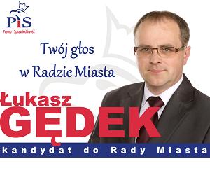 [Zduńska Wola] – Łukasz Gędek, Rada Miasta