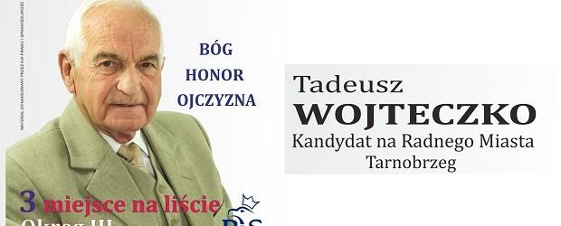 Tadeusz Wojteczko – Kandydat do Rady Miasta Tarnobrzega