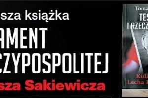 """Najnowsza książka Tomasz Sakiewicza – """"Testament I Rzeczypospolitej"""" – Łódź, Pabianice, Gdańsk II, Koszalin"""