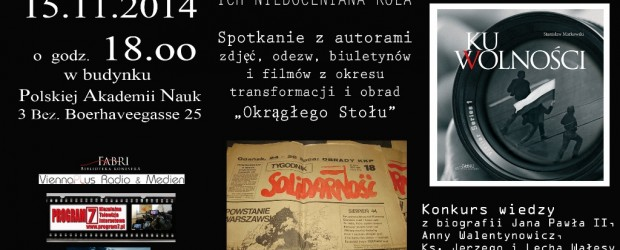 """Wiedeń – wystawa """"25-lecie drogi RP"""", 15 listopada"""