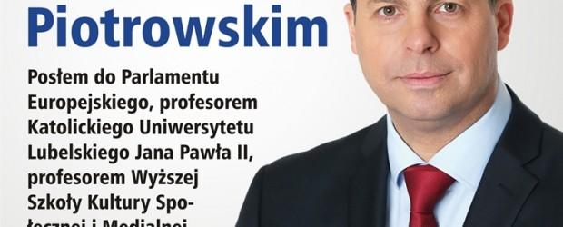 Włodawa – spotkanie z prof. dr hab. Mirosławem Piotrowskim, 7 listopada