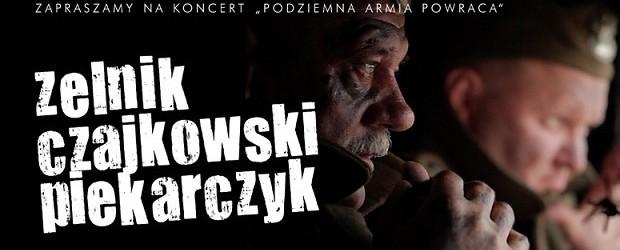 Pomorze Gdańskie – Podziemna Armia Powraca – koncert L. Czajkowskiego i P. Piekarczyka