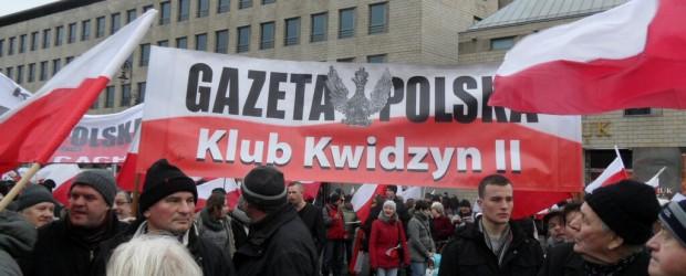 """Klub """"GP"""" Kwidzyn II 13 grudnia w Warszawie."""