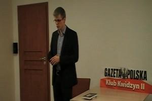 Autor Wilcząt Kajetan Rajski w Kwidzynie (wideo)