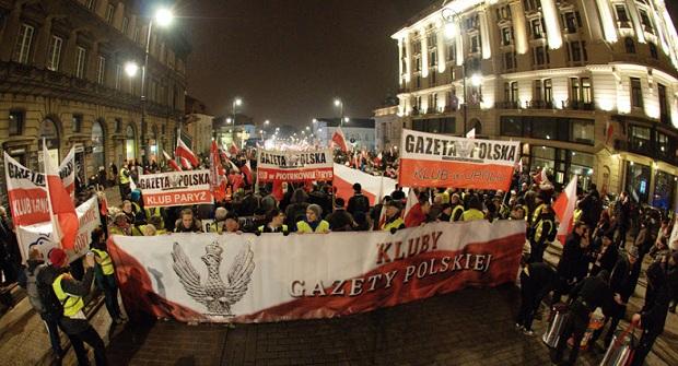"""[Tydzień w Klubach """"GP""""] Wielka Manifestacja w Warszawie"""