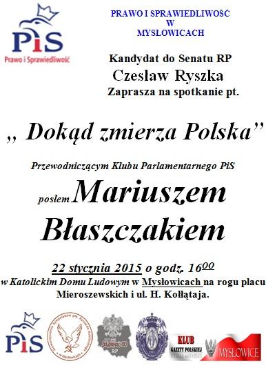 Myslowice Blaszczak 2015