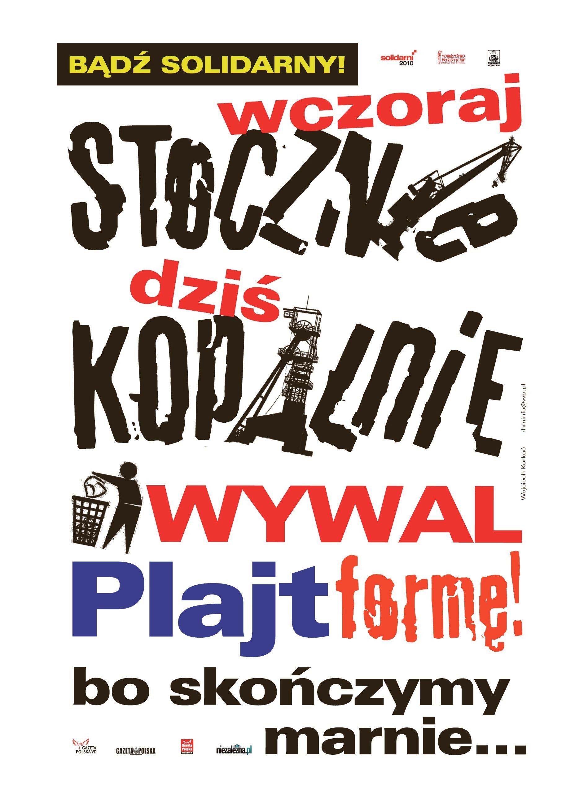Plakat gornicy