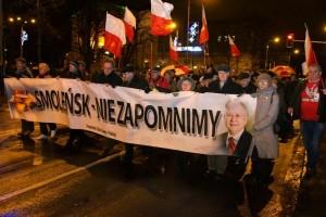 Poznań – 10 stycznia 2015 r. – 57 miesięcznica Tragedii Smoleńskiej