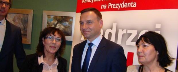 Kandydat na Prezydenta, Andrzej Duda w Radomsku