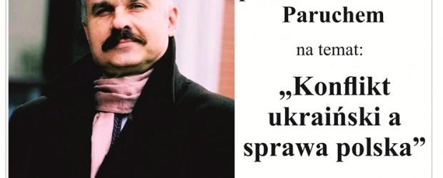 Łęczna – spotkanie z profesorem Waldemarem Paruchem, 20 lutego,