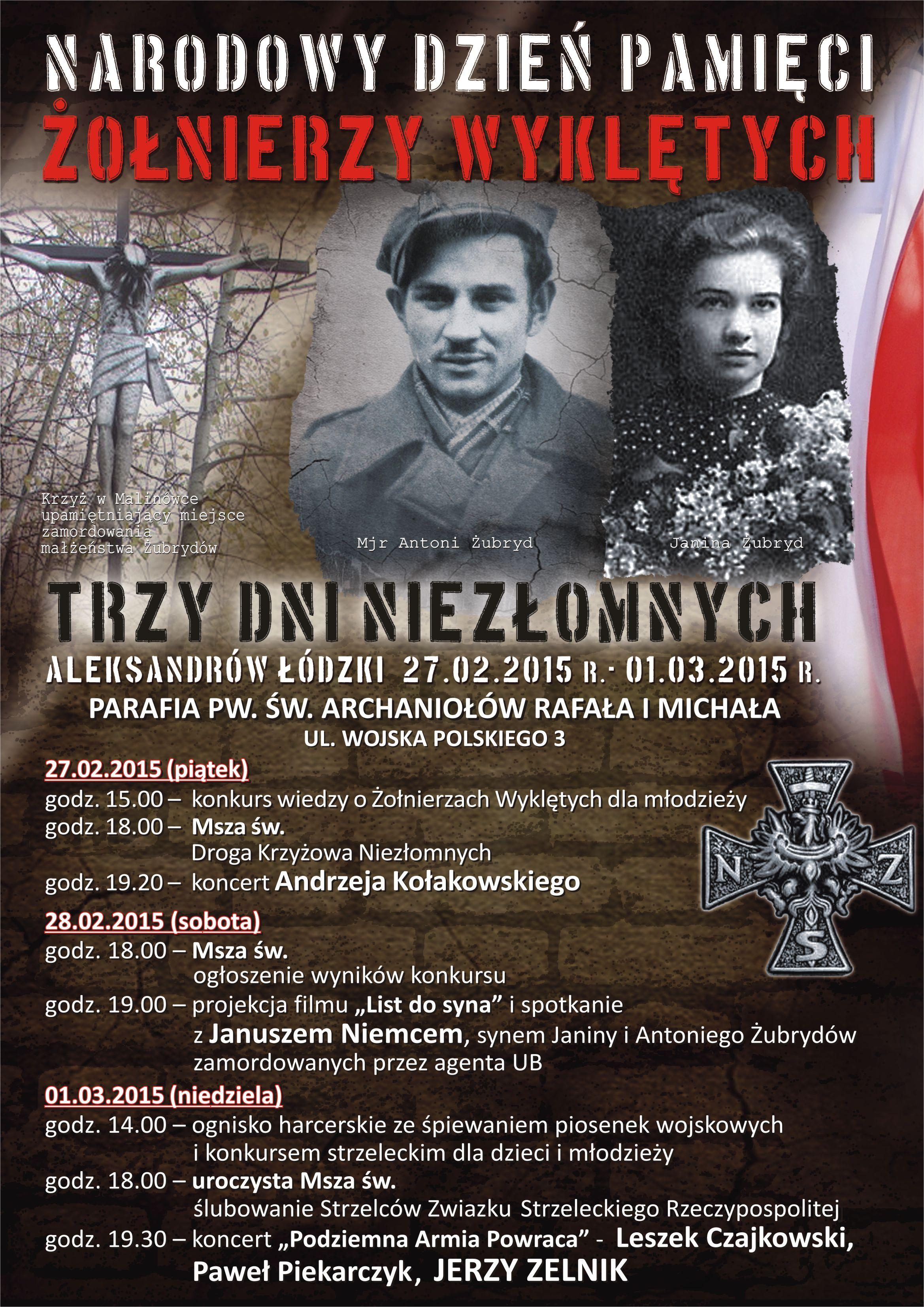 AleksandrowLodzki Zolnierze Wykleci 2015