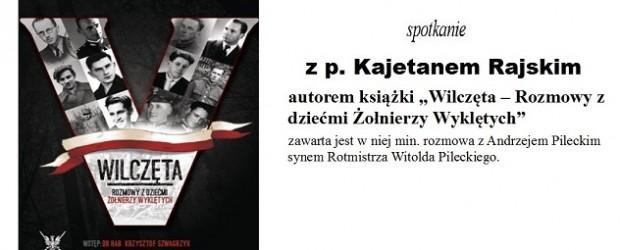 Cykl spotkań na Pomorzu Gdańskim  z Kajetanem Rajskim, 6-9 marca