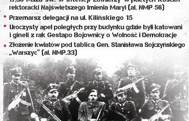 Częstochowa – Narodowy Dzień Pamięci Żołnierzy Wyklętych, 1 marca