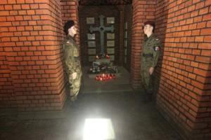 Gliwice – miesięcznica tragedii smoleńskiej 10 lutego 2015 r. oraz spotkanie z generałową Martę Potasińską