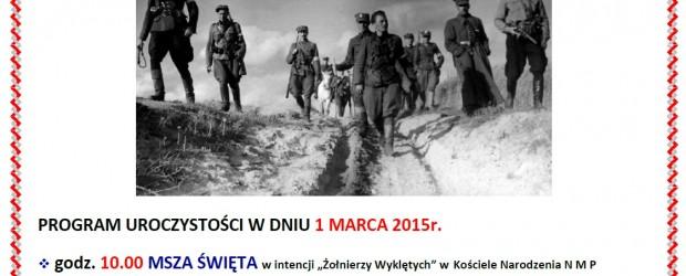 Konstantynów Łódzki – obchody Narodowego Dnia Pamięci Żołnierzy Wyklętych
