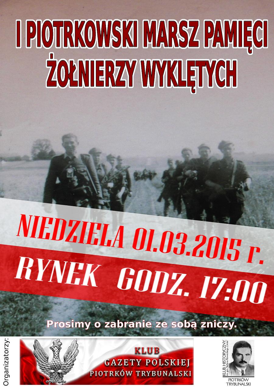 Piotrkow Tryb. - Zolnierze Wykletych 2015
