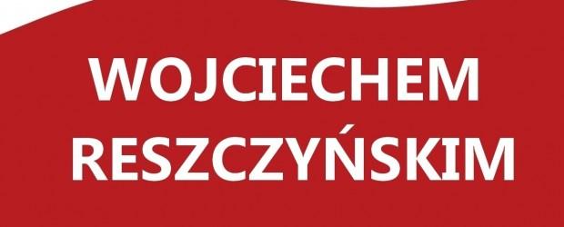 Myślenice – spotkanie Wojciechem Reszczyńskim, 26 marca