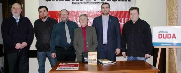 Dr Barbara Fedyszak-Radziejowska w Myślenickim Klubie Gazety Polskiej