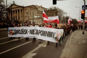 Miesięcznica Tragedii Smoleńskiej w Poznaniu
