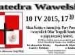 5 rocznica tragedii smoleńskiej  10 kwietnia w Krakowie