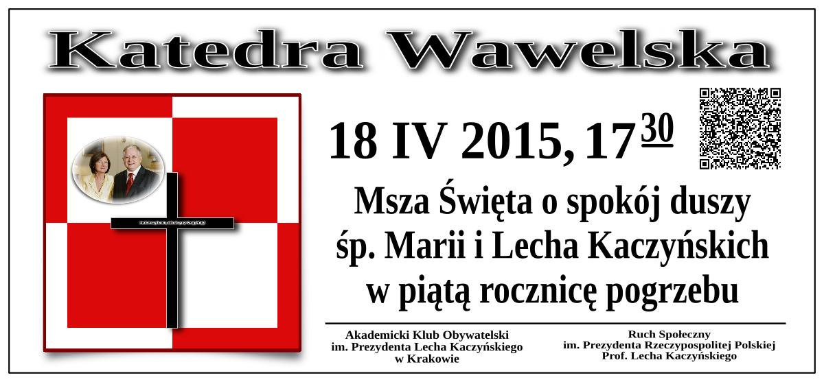 Krakow 18 kwietnia 2015