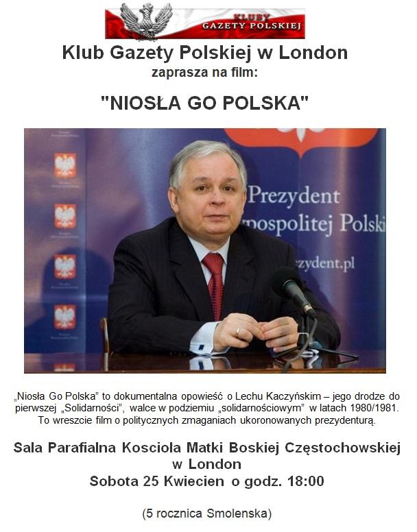 London Niosla Go polska 2015