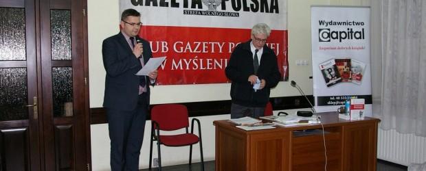 Zainspirowany Konecznym – spotkanie z W. Reszczyńskim w Myślenicach