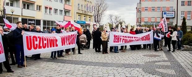 Obrona wolnych i uczciwych wyborów oraz poparcie dla Andrzeja Dudy w starciu o Pałac Prezydencki w Raciborzu