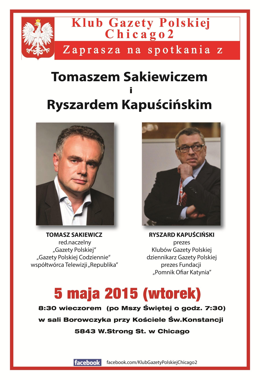plakat na luty 2014 Sakiewicz,Kapuscinski Piekarczyk