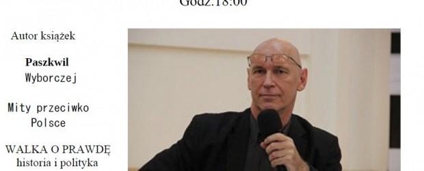 """Hamburg – spotkanie z Leszkiem Zebrowskim nt. """"Geneza i skutki komunizmu"""", 17 maja"""