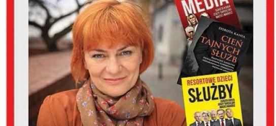 """Legionowo – spotkanie autorskie z red. Dorotą Kanią """"Resortowe dzieci służby"""", 14 maja"""
