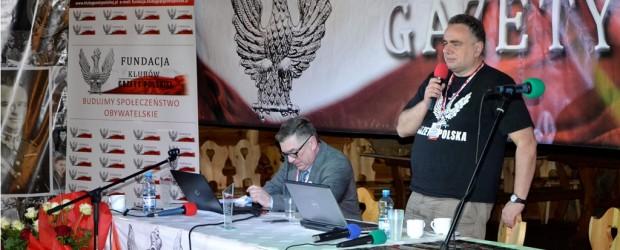 """Wystąpienie Tomasza Sakiewicza podczas X Zjazdu Klubów """"GP"""" (wideo)"""